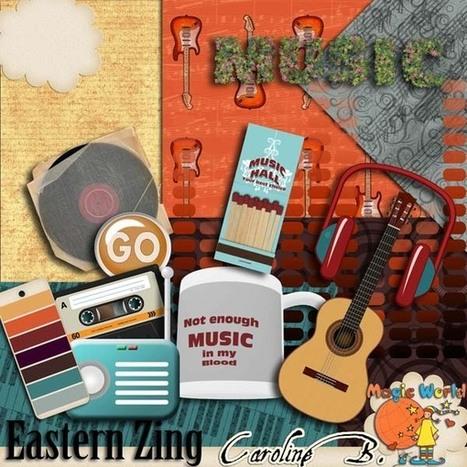 Eastern Zing One - $2.99 : Caroline B., My Magic World of Digital Design | SCRAPBOOKING | Scoop.it