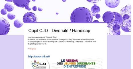 Copil CJD - Diversité / Handicap | Centre des Jeunes Dirigeants Belgique | Scoop.it