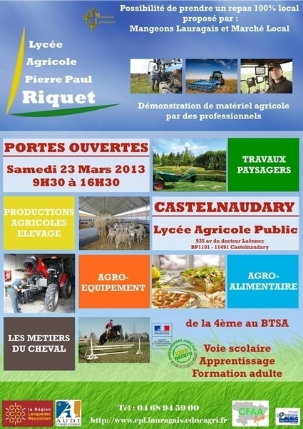 Affiche_site.jpg (500x707 pixels) | ORIENTATION: PORTES OUVERTES dans les établissements du Languedoc Roussillon | Scoop.it