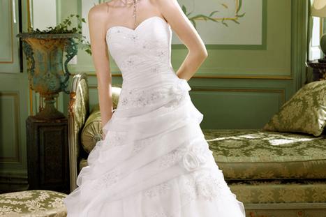 Robe de mariée, une belle sélection sur Robes-soirees.fr | Robes de soirée | Scoop.it