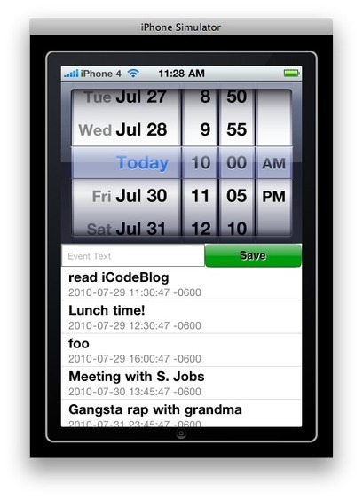 iPhone Programming Tutorial – Local Notifications   iPhone Programming Tutorials   Random Dev Note   Scoop.it