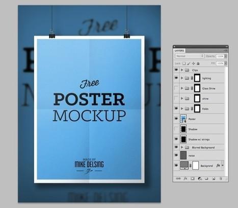 18 Mockups PSD gratis para presentar tus diseños | mayatex | Scoop.it