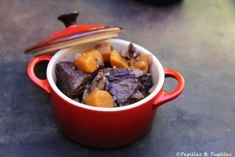 Boeuf Bourguignon aux champignons et carottes | Consomm'actions | Scoop.it