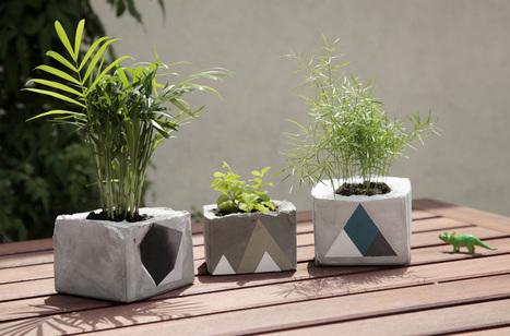 Réaliser des petits pots vraiment bétons ! #idée #DIY #déco | Best of coin des bricoleurs | Scoop.it