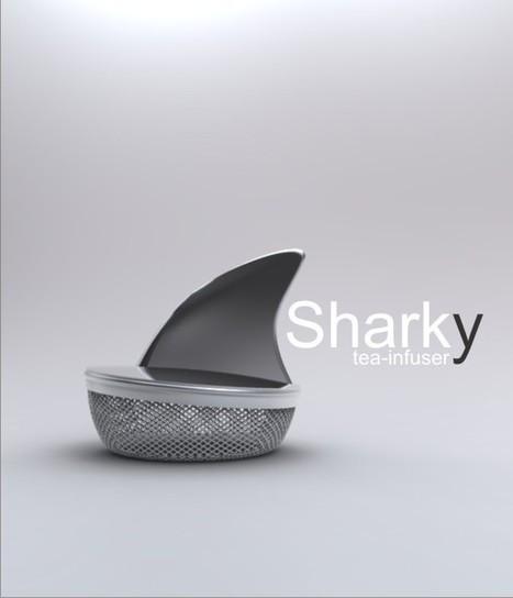 sharky - designboom   Scuba Smurf   Scoop.it