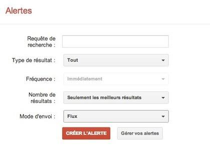 Google Alertes : un premier pas vers la veille | Veille Ouest | Geeks | Scoop.it