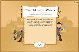 Elemental querido Watson : juegos de ortografía | Español para los más pequeños | Scoop.it