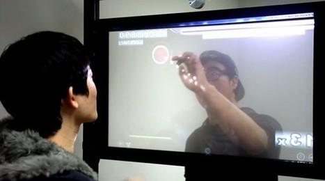 TransWall : un écran tactile transparent qui peut être utilisé des deux côtés | Cabinet de curiosités numériques | Scoop.it
