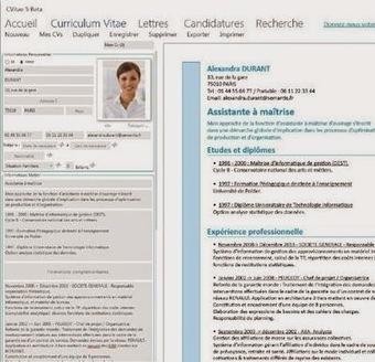 Rédiger son CV et sa lettre de motivation avec le logiciel CVitae | Veille & Documentation | Scoop.it