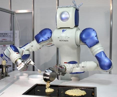 Un robot qui apprend à cuisiner avec YouTube | Restauration, quand le digital relève le plat... et crée le trafic. | Scoop.it