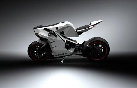 2015 Honda CB 750 Concept by Igor Chak   Art, Design & Technology   Scoop.it