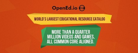 OpenEd - Largest K-12 OER. Quarter Million Common Core Videos and Games. | Common Core Made Easy | Scoop.it
