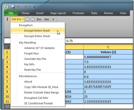 Encrypt Excel Spreadsheet & Selected Data Range With Sheet Encryptor | formation 2.0 | Scoop.it