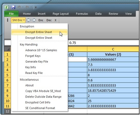 Encrypt Excel Spreadsheet & Selected Data Range With Sheet Encryptor | Time to Learn | Scoop.it