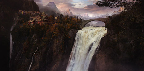 Digital Art Inspiration and Tutorials – The Round Tablet » Untitled Matte Painting by miragenz | Matte painting | Scoop.it