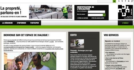 Plaine Commune lance un espace de dialogue citoyen en ligne | Immobilier | Scoop.it