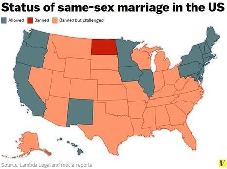 Same Sex Marriage's Inexorable March | Matthew K. Barison Bookmarks | Scoop.it