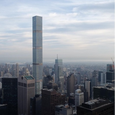 Photos reveal impact of Viñoly's super-tall skyscraper in NYC | The Architecture of the City | Scoop.it