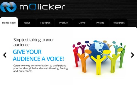 mQlicker - Free Audience Response System for Mobile, Cell and Smartphones, | TELT | Scoop.it