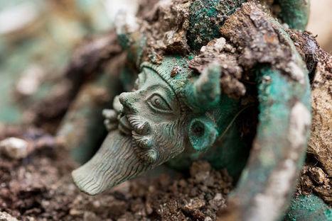 Archéologie : découverte exceptionnelle en France d'une tombe princière celte | Ca m'interpelle... | Scoop.it