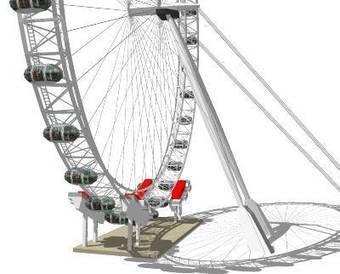 3dHH-London-Eye-v3 (5cm/px phototexture, 3d-PDF) by 3dHH - 3D Warehouse | 3D Model | Scoop.it