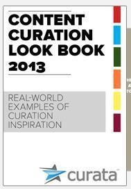 eBook: Content Curation Look Book - Curata | Public Relations & Social Media Insight | Scoop.it