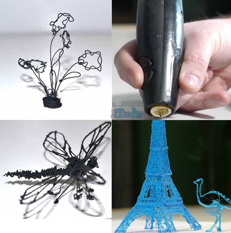 Trending in technology: Sound wave fire extinguisher, 3D printing pen | Mind Moving Media | Scoop.it