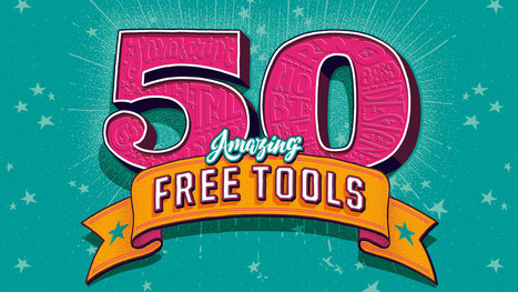 50 free web tools | All about e-learning.... | Scoop.it