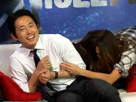 "Zombie Survival Tips With ""The Walking Dead"" Star Steven Yeun 