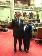 L'Assemblée législative de New York salue les représentants du Québec   Québec-New York   Scoop.it