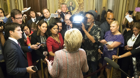 This is why Hillary Clinton doesn't do press conferences | Public Relations & Social Media Insight | Scoop.it
