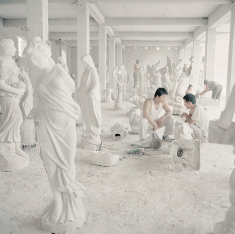 chiara goia captures chinese artists reproducing sculptures | Product Design | Scoop.it