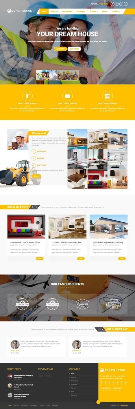 BT Construction Joomla Template for Architecture & Builders | Premium Joomla Templates | Scoop.it