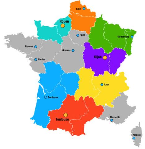 Les nouvelles capitales régionales... et les villes qui ne le sont plus   Languedoc Roussillon : actualité économique   Scoop.it