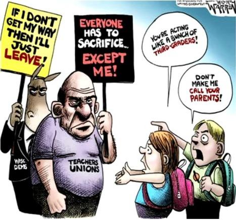 Teachers Union Decertified in Wisconsin   Restore America   Scoop.it