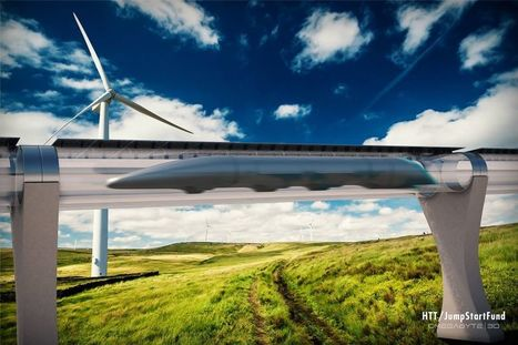 Hyperloop's 1st home may be Central Valley eco-utopia - SFGate | Green Geek News | Scoop.it