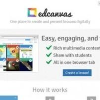 EdCanvas. Creez vos supports de cours numeriques. | LEMANEGE | Scoop.it
