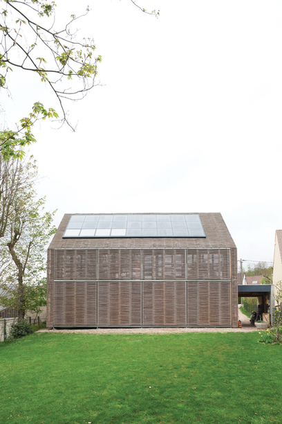 Passive Progressive: a bamboo-clad modern farmhouse in France | sustainable architecture | Scoop.it