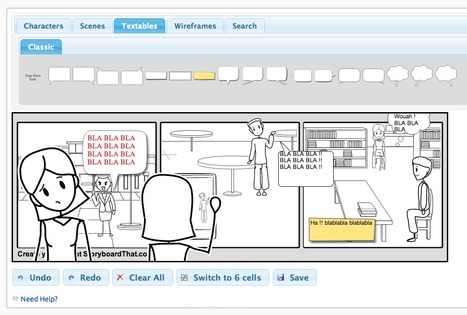::: STORYBOARDAGE ::: Storyboard That | CRÉER - DESSINER EN LIGNE | Scoop.it