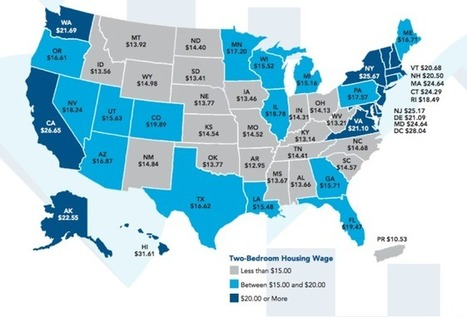 These maps show how rent is too damn high across America | Criminology and Economic Theory | Scoop.it