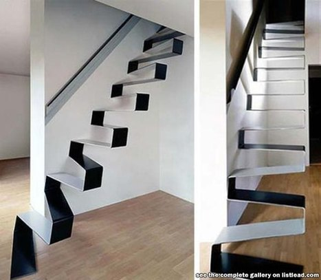 11 Of The Most Odd But Beautiful Stairs | crazy news articles | Scoop.it
