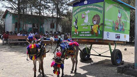 En Éthiopie, ce sont les ânes qui éduquent, avec une bibliothèque mobile | La vie des BibliothèqueS | Scoop.it