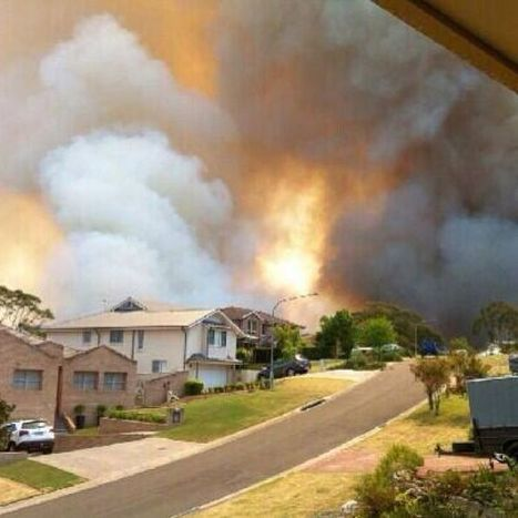 NSW in state of emergency amid fears of potential mega-fire | A Powerful World | Scoop.it
