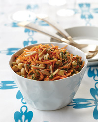 Carrot-and-Chickpea Salad Recipe | À Catanada na Cozinha Magazine | Scoop.it