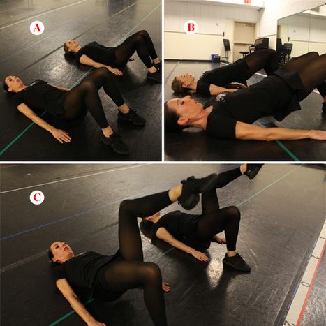 4 Abs Exercises from the Crazy Fit Rockettes | Health and Fitness | Scoop.it