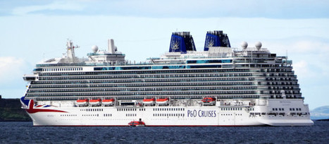 Britannia cruise ship sails into Forth | Today's Edinburgh News | Scoop.it
