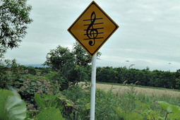 Safety through Singing with Musical Roads | Street installations with attitude | Scoop.it