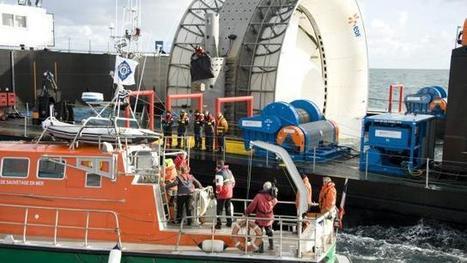 Projet hydrolien à Paimpol. La production c'est pour l'automne | Eolien Offshore Projet baie de St Brieuc (22) | Scoop.it