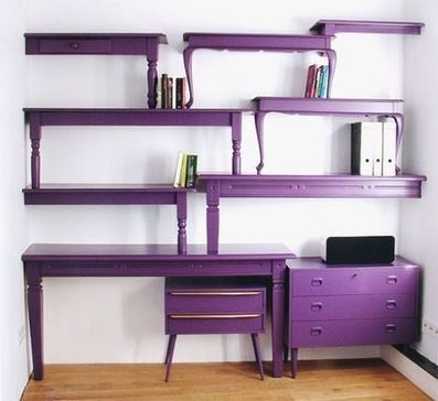 DIY Inspiration: Stacked Table Shelving | Inchalam | Scoop.it