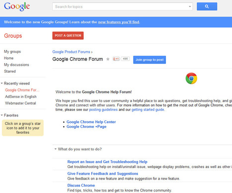 Where to go when you need Google Chrome help | Time to Learn | Scoop.it